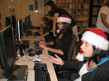 Christmas in the computer lab?