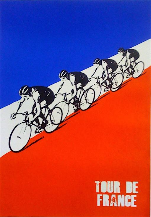 Le Tour De France Vintage Poster