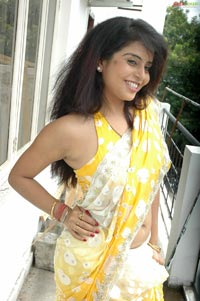 prachi in saree, kundi show