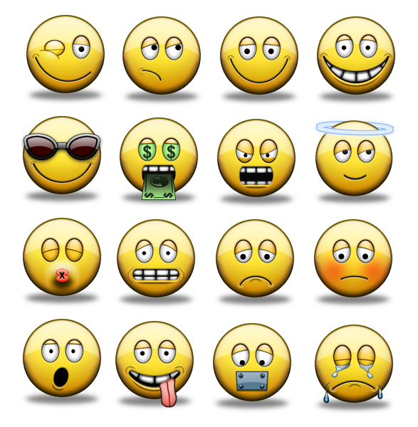 smiley face clip art. SMILEY ICONS. smiley face clip