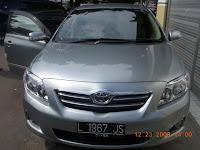 All New Corolla Altis V A/T Medium Silver