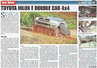 Toyota Hilux E Double Cab 4x4