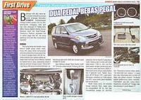 Harga Toyota New Avanza Matik