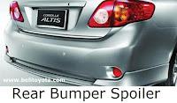 Rear Bumper Spoiler