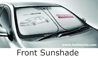 Front Sunshade