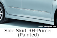 aksesoris camry: Side Skirt RH-Primer (Painted)