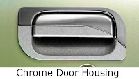 toyota avanza: chrome, door, housing