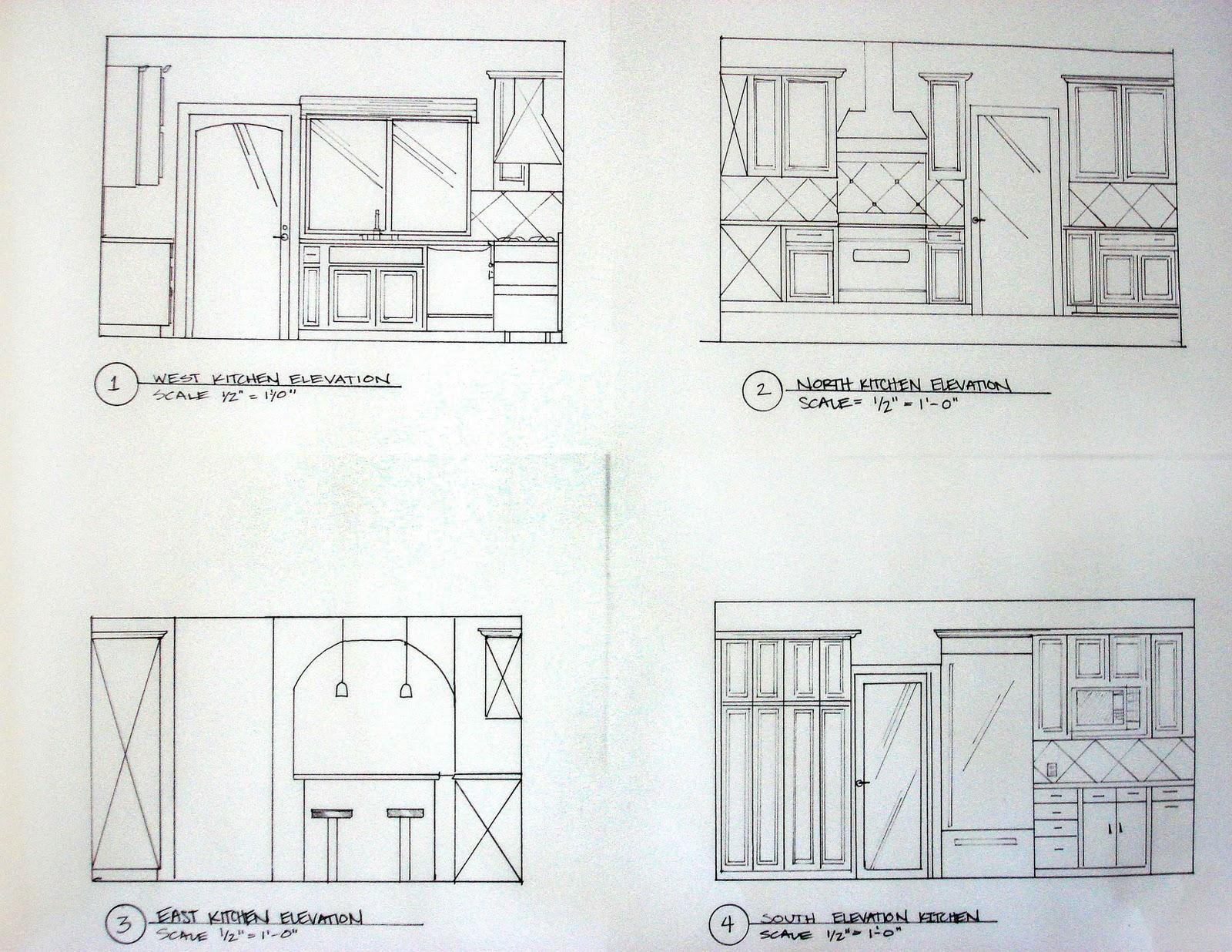 Kitchen Design Elevations suzy kloner design kitchen before and after design designedkc