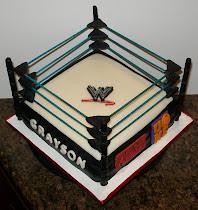 WWE Wrestling Cake