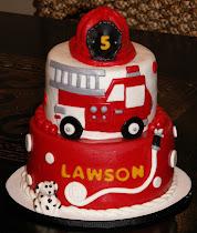 Lawson's Firetruck