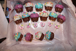 Cupcake Cakepops for Saylah