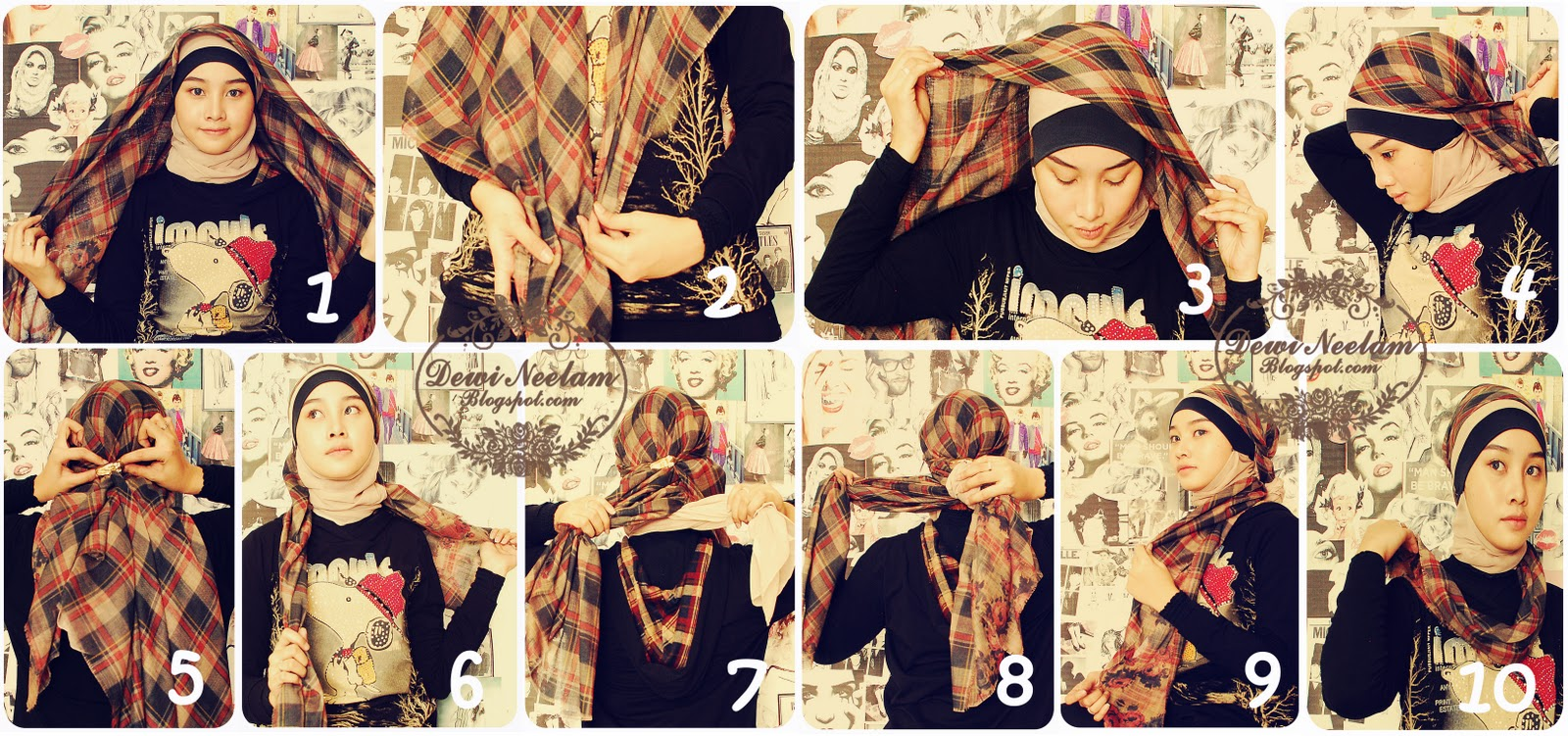 Hijabers Tutorial Sakinah Hijab Tutorial 6 Untitled 3