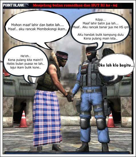 Foto Point Blank Lucu  Komik Point Blank Lucu  Point