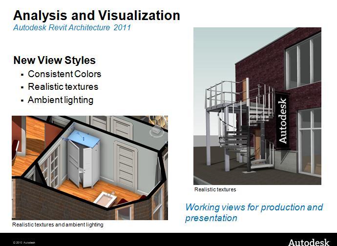 Autodesk BIM - Revit architecture: Revit Architecture 2011 New ...
