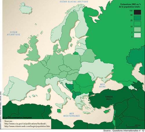5 facts about the Muslim population in Europe