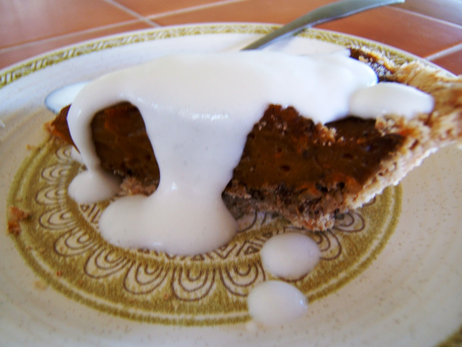 Spice-Kissed Pumpkin Pie with Coconut Cream