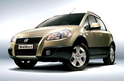 Fiat Sedici Car Wallpaper Free