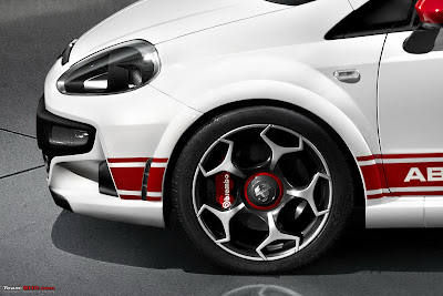 Fiat Punto Evo Abarth Car Wallpaper Free Side