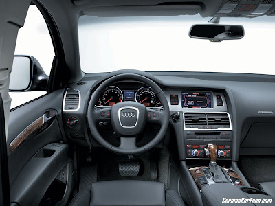 Audi Q7 Suv Car Wallpaper Picture Interior