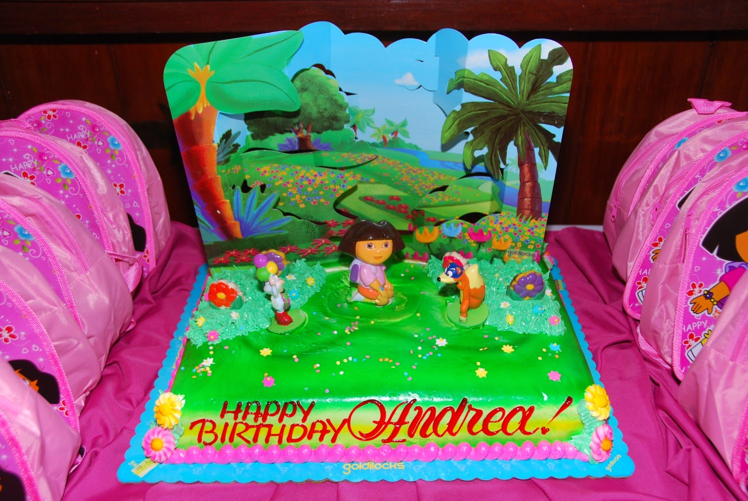Of Pinks and Fairy Tales DIY Dora Birthday Party Invites