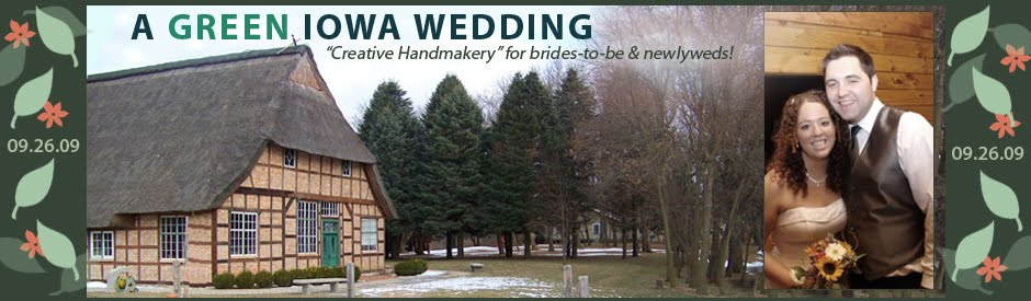 Green Iowa Wedding