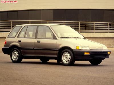 1986 Honda Civic Wagon. 1989 Honda Civic Wagon