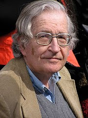 photo of Chomsky