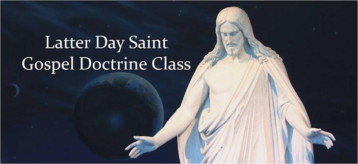 LDS Gospel Doctrine Class