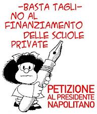 petizione al presidente della Repubblica Giorgio Napolitano