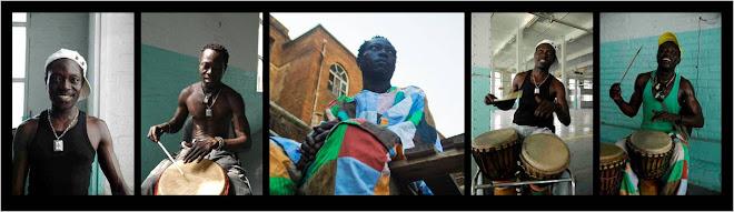 Mamadou Gueye, Coordinador Musical y Circo (Senegal)