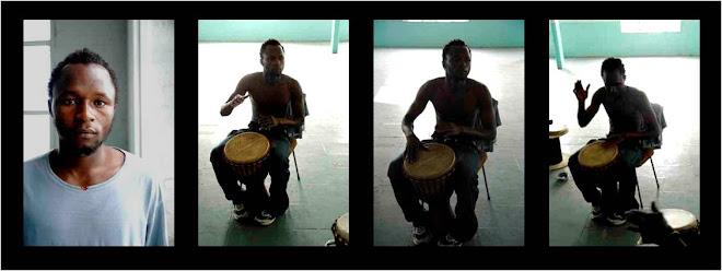 Jacaria, músico - actor - danzas (Gambia)