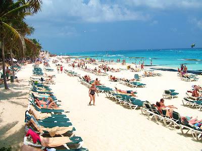 Playacar Beach, Riviera Maya, Playa Del Carmen