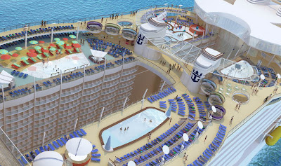 Oasis Of The Seas - Pool Deck