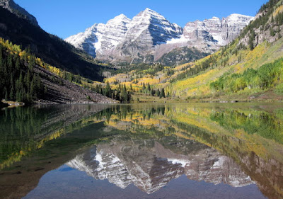 The Maroon Bells Near Aspen