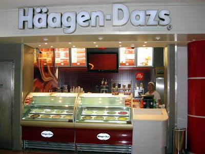 Haagen-Dazs Ice Cream Booth