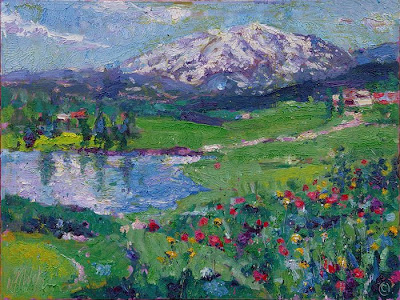 Mt. Sopris Painting