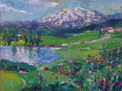 Mt. Sopris Painting