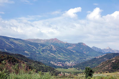 Snowmass Mountain Colorado In Summer