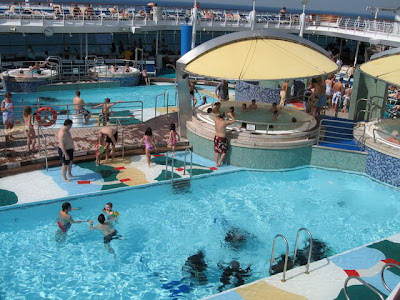 Voyager Of The Seas Pools