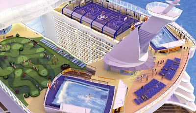 Oasis Of The Seas Sports Deck