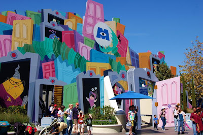 Monsters Inc. Ride at Disneyland