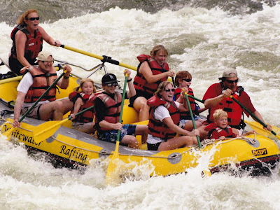 Whitewater Rafting Shoshone In Glenwood Canyon Colorado