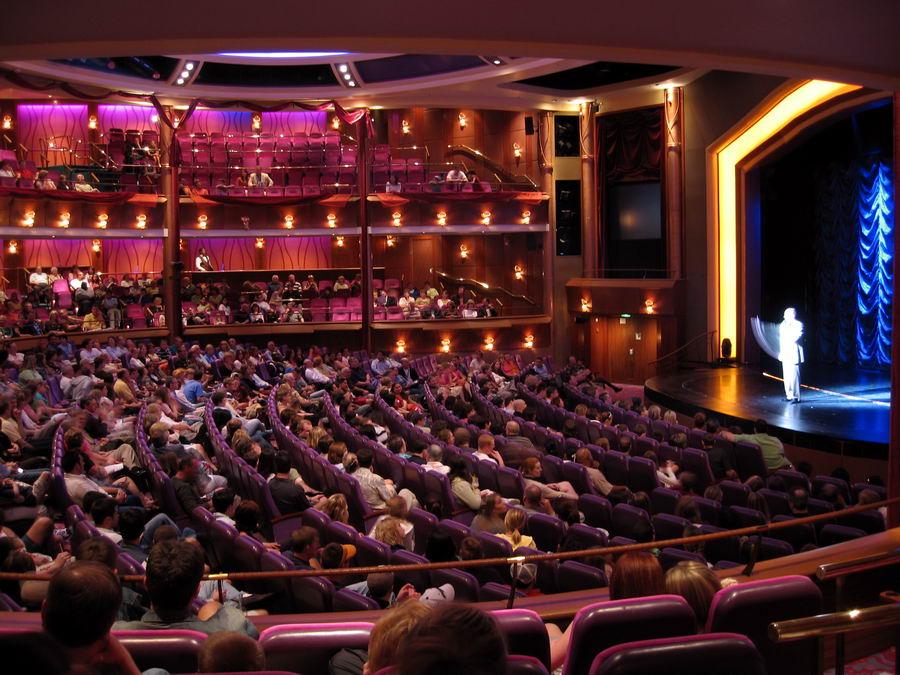 Explorer Of The Seas Theater  Cruise Ship Photos  Cruise Ship Pictures