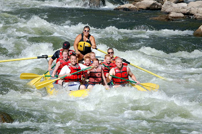 Whitewater Colorado Rafting