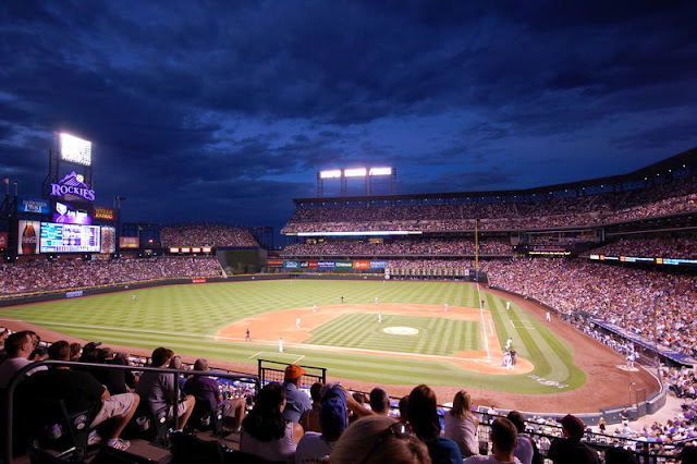 Coors Field Night Game