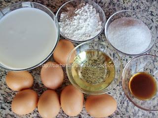 coji de eclere cu crema de vanilie ingrediente
