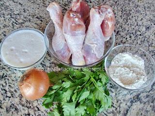 Ciulama din carne pulpe de pui Ingrediente reteta
