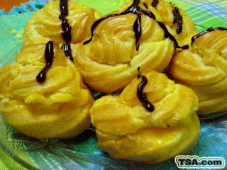 Cream Puff Yang Gebu Dari Dapur Ct
