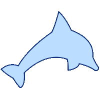 groovyで描画したイルカの画像