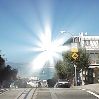 groovyで描画した光の放射